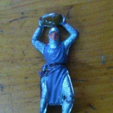 Figuras de Goma y PVC: FIGURA PLASTICO SOLDADO MEDIEVAL. PLASTICO.. Lote 38367197