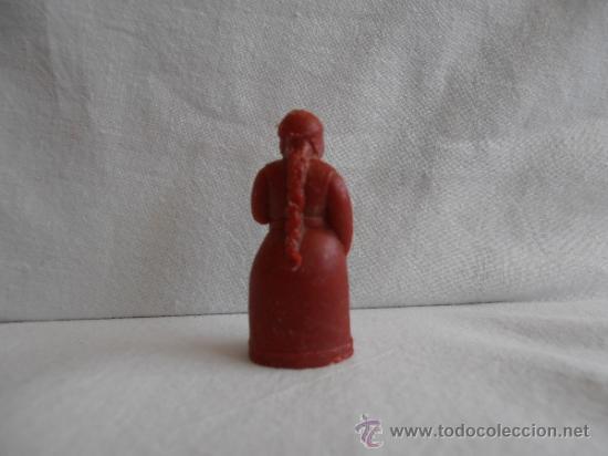 Figuras de Goma y PVC: FIGURA DUNKIN PREMIUM PERSONAJE MUJER RUY EL PEQUEÑO CID RARA - Foto 2 - 38572792