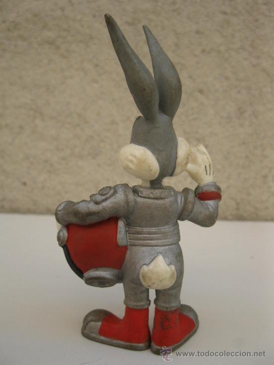 Figuras de Goma y PVC: BUGS BUNNY ASTRONAUTA - FIGURA DE PVC - BULLYLAND - WARNER BROS. - Foto 2 - 38420754