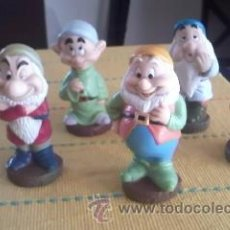 Figuras de Goma y PVC: LOTE DE 3 ENANITOS DE BLANCANIEVES DE DISNEY. MADE IN CHINA.. Lote 38462794