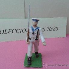 Figuras de Goma y PVC: FIGURA SOLDADO MARINERO REAMSA DESFILANDO ORIGINAL . Lote 38480979