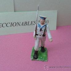 Figuras de Goma y PVC: FIGURA SOLDADO MARINERO REAMSA DESFILANDO ORIGINAL. Lote 38480992
