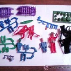 Figuras de Goma y PVC: MONTAPLEX LOTE VARIADO COLADAS DE MONTAMAN Y MONTAPLEX -REFM4E5. Lote 39153626