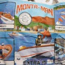 Figuras de Goma y PVC: MONTAPLEX MONTAMAN SOBRE CERRADO EXTRA 15. Lote 143234226