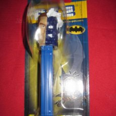 Dispensador Pez: DISPENSADOR CARAMELOS PEZ DOS CARAS BATMAN DC BLISTER NUEVO. Lote 38497135