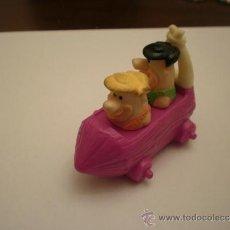 Figurines en Caoutchouc et PVC: PEDRO PICAPIEDRA Y PABLO MARMOL FIGURA PROMOCIONAL PVC. Lote 100396452
