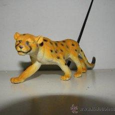 Figuras de Goma y PVC: FIGURA DE GOMA DURA PVC ANIMALES GUEPARDO 20 CM. Lote 38617037