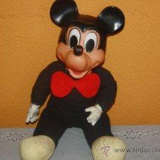 Figuras de Goma y PVC: RATON MIKY CABEZA Y MANOS DE GOMA . Lote 38735627