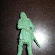 Figuras de Goma y PVC: REG - JUGUETES MOYA : SOLDADO MEDIEVAL ORIGINAL AÑOS 60 . Lote 38747329