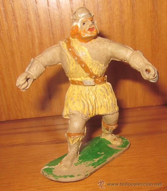 VIKINGO DE JIM,GOMA,ANTECESOR DE ESTEREOPLAST (Juguetes - Figuras de Goma y Pvc - Estereoplast)