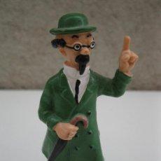 Figuras de Goma y PVC: EL PROFESOR TORNASOL - PERSONAJE DE TINTÍN - FIGURA DE PVC - HERGÉ - BULLY. . Lote 38797475