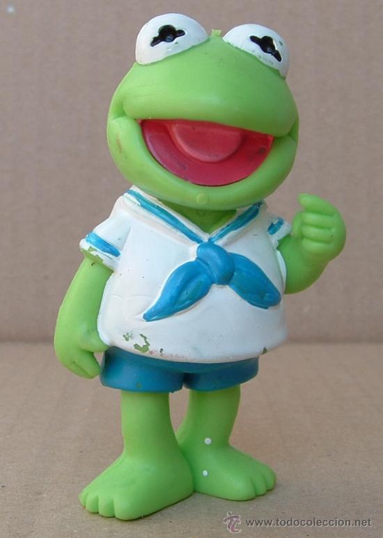 figura muñeco pvc rana gustavo kermit muppets b comprar otras