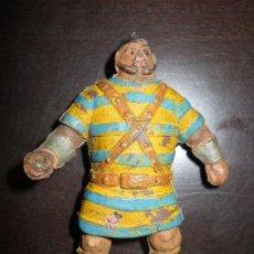 Figuras de Goma y PVC: ESTEREOPLAST - JIN : GOLIAT SERIE CAPITAN TRUENO EN GOMA AÑOS 50 . Lote 38983913