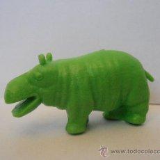 Figuras de Goma y PVC: FIGURA DUNKIN PREMIUM HIPOPOTAMO VERDE LIBRO DE LA SELVA. Lote 39490830