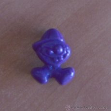 Figuras de Goma y PVC: FIGURA PVC GOGO NIÑO GORRA DE COLOR LILA Nº A 22. A22 GOGO'S. GOGOS. 1 EURO €. MAGIC BOX. Lote 39073019