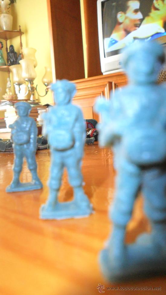 FIGURA PLASTICO PREMIUM PARACAIDISTA TODDY Nº 10, 60S MUY RARO (Juguetes - Figuras de Goma y Pvc - Dunkin)