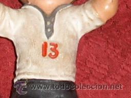 Figuras de Goma y PVC: FIGURA NIÑO EN GOMA PVC DE JUGADOR DE FUTBOL AÑOS 50-60.UNA JOYA!!. - Foto 3 - 39140527