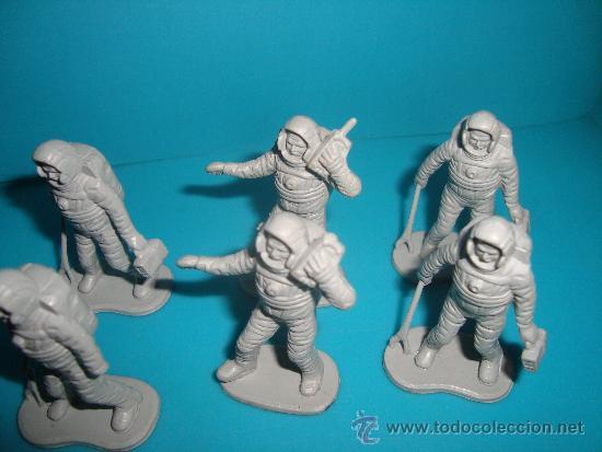 Figuras de Goma y PVC: LOTE DE FIGURAS DE ASTRONAUTAS, 18 FIGURAS DE ASTRONAUTAS - Foto 2 - 39177227