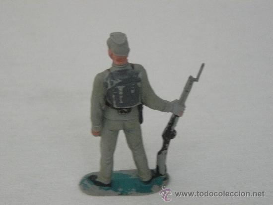 Figuras de Goma y PVC: INFANTERIA SUDISTA O CONFEDERADO MARCA JECSAN AÑOS 60 - Foto 2 - 39179045