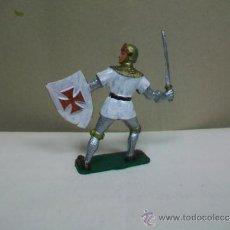 Figuras de Borracha e PVC: FIGURA CRUZADO STARLUX - MEDIEVAL DE STARLUX . Lote 39270947