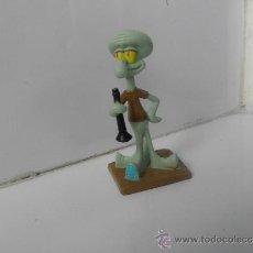 Figuras de Goma y PVC: FIGURA DE SERIE DE DIBUJOS BOB ESPONJA VIACOM CALAMARDO. Lote 39297033