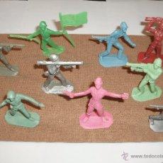 Figuras de Goma y PVC: SOLDADOS DEL MUNDO COMANSI,JAPONESES AMERICANOS. Lote 39410265