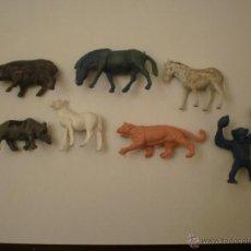 Figuras de Goma y PVC: PECH HERMANOS ANIMALES SALVAJES ZOO AFRICA PIPERO AÑOS 60. Lote 39415856