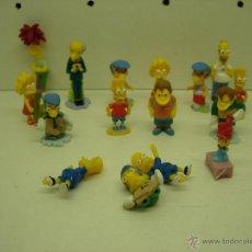 Figuras Kinder: LOTE JUGUETES KINDER SORPRESA LOS SIMPSONS. Lote 39440828