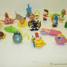 Figuras Kinder: LOTE JUGUETES KINDER SORPRESA. Lote 39460463