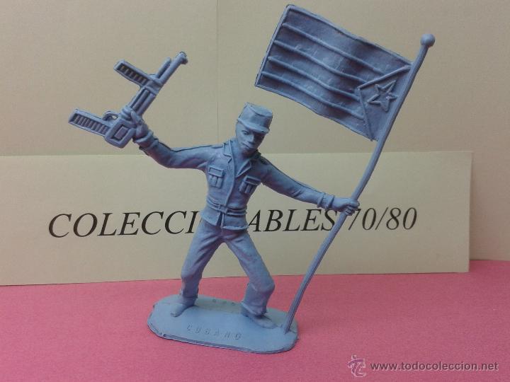SOLDADOS DEL MUNDO COMANSI CUBANO Nº 1026 DE PLASTICO O PVC ORIGINAL AÑOS 70/80 (Juguetes - Figuras de Goma y Pvc - Comansi y Novolinea)