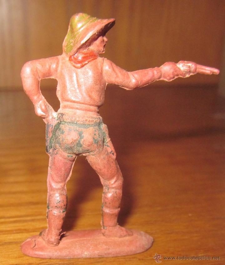 Figuras de Goma y PVC: VAQUERO,REAMSA,GOMA,SERIE PEQUEÑA,AÑOS 50 - Foto 2 - 39773206