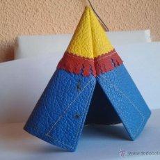 Figuras de Goma y PVC: TIENDA INDIA DE PECH EN CUERO AÑOS 50 . Lote 39789982