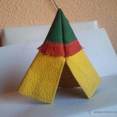 Figuras de Goma y PVC: TIENDA INDIA DE PECH EN CUERO AÑOS 50 . Lote 39789994