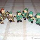 Figuras de Goma y PVC: LOTE MUÑECOS DE GOMA HITLER Y SOLDADOS NAZIS - MUY RARO - DIFÍCIL DE CONSEGUIR - VER FOTOS. Lote 39855741
