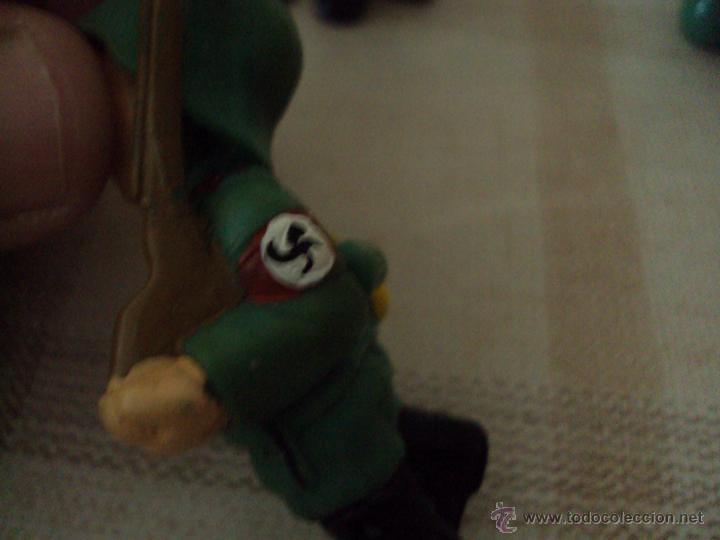 Figuras de Goma y PVC: Lote Muñecos de Goma Hitler y Soldados Nazis - Muy Raro - Difícil de Conseguir - Ver Fotos - Foto 3 - 39855741