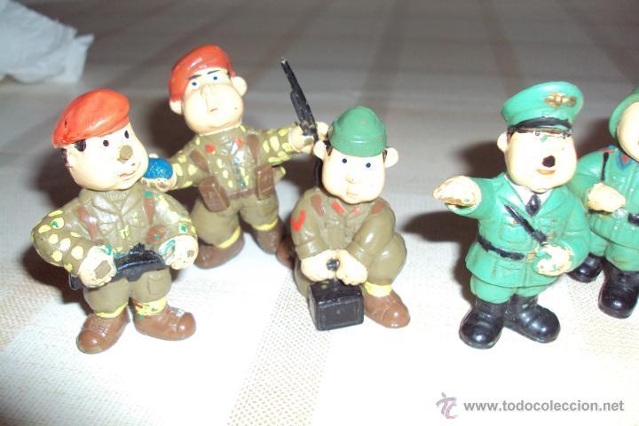 Figuras de Goma y PVC: Lote Muñecos de Goma Hitler y Soldados Nazis - Muy Raro - Difícil de Conseguir - Ver Fotos - Foto 4 - 39855741