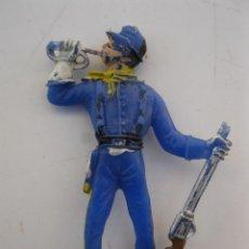 Figuras de Goma y PVC: ANTIGUA FIGURA DE PLÁSTICO - SOLDADO DEL 7º DE CABALLERÍA - COMANSI.. Lote 39859238