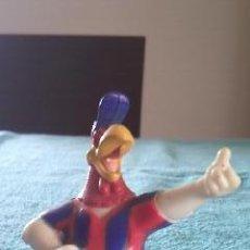 Figuras de Goma y PVC: WARNER BROS PVC GALLO CLAUDIO 1996 ESTADO PERFECTO, BARÇA LE FALTA LA BANDERA. Lote 39892964