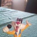 Figuras de Goma y PVC: GATO SILVESTRE VESTIDO DE ELVIS WARNER BROS 1994. Lote 39893398