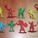 Figuras de Goma y PVC: LOTE FIGURAS OESTE COMANSI PRIMERA EPOCA O PIPERO. Lote 39906831