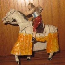 Figuras de Borracha e PVC: REJONEADOR DE TEIXIDÓ,GOMA,AÑOS 50. Lote 39815592