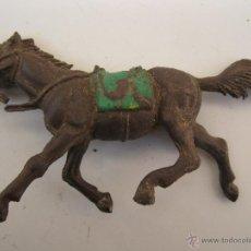 Figuras de Goma y PVC: ANTIGUO CABALLO DE GOMA - JECSAN - AÑOS 50.. Lote 40089687
