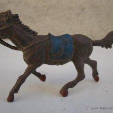 Figuras de Goma y PVC: ANTIGUO CABALLO DE GOMA - JECSAN - AÑOS 50.. Lote 40356549