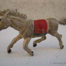 Figuras de Goma y PVC: ANTIGUO CABALLO DE GOMA - JECSAN - AÑOS 50.. Lote 40356600