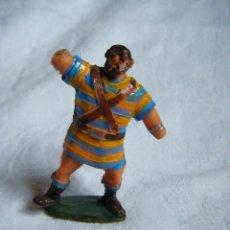 Figuras de Goma y PVC: GOLIAT - FIGURA CAPITAN TRUENO - AÑOS 60. Lote 40657793