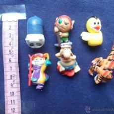Figuras Kinder: LOTE DE 6 FIGURAS DE PLASTICO, KINDER. . Lote 40717179