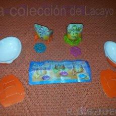 Figuras Kinder: 2 FIGURAS HUEVOS KINDER LANZADORES. Lote 40759954