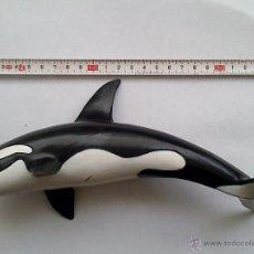 Figuras de Borracha e PVC: BALLENA, ORCA. FIGURA MACIZA. 1995, SCHLEICH. GASTOS ENVIO 5 EUROS. Lote 169706137