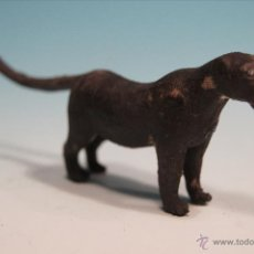Figuras de Goma y PVC: FIGURA ARCLA PANTERA AFRICA SALVAJE MUY RARA 80 MM. Lote 40809464