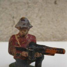 Figuras de Goma y PVC: ANTIGUO SOLDADO DE GOMA - JECSAN - AÑOS 50.. Lote 40910867